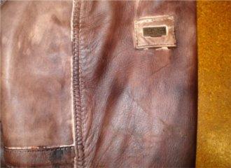 Lederjacke beschädigt? | Reparatur per Versand schnell und wie neu ...